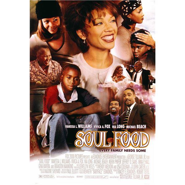 Soul Food original 1997 vintage one sheet movie poster