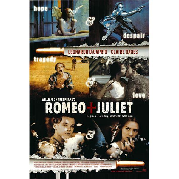 Romeo and Juliet original 1996 vintage one sheet movie poster
