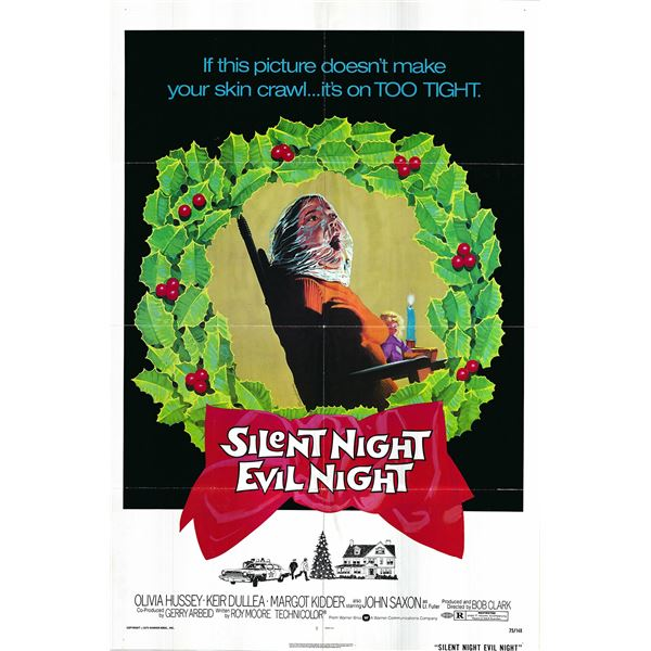 Silent Night, Evil Night original 1975 vintage one sheet poster
