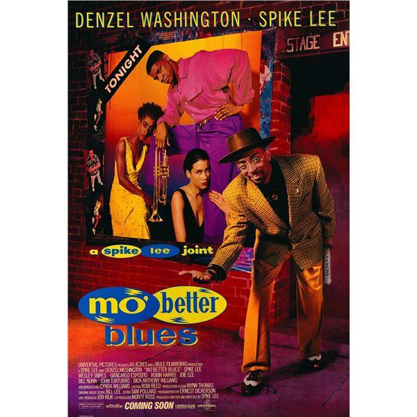 Mo' Better Blues 1990 original vintage movie poster
