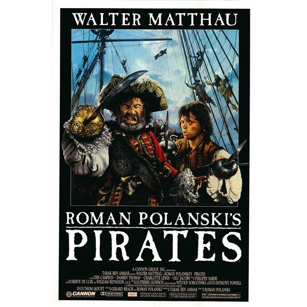 Pirates 1986 original vintage movie poster