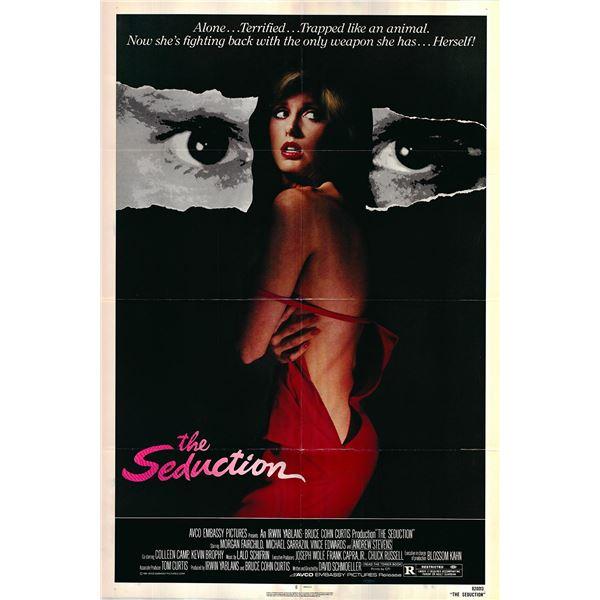 The Seduction original 1982 vintage one sheet movie poster