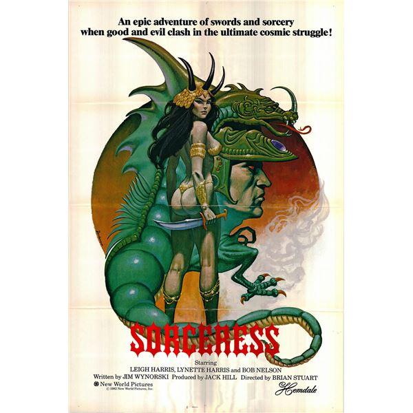 Sorceress original 1982 vintage one sheet movie poster