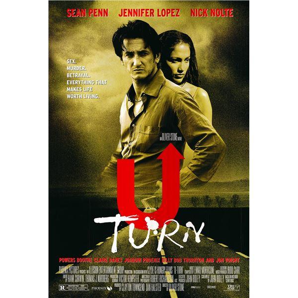 U Turn original 1997 vintage one sheet movie poster