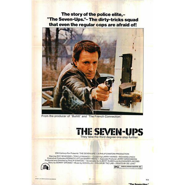 The Seven-Ups original 1974 vintage one sheet movie poster