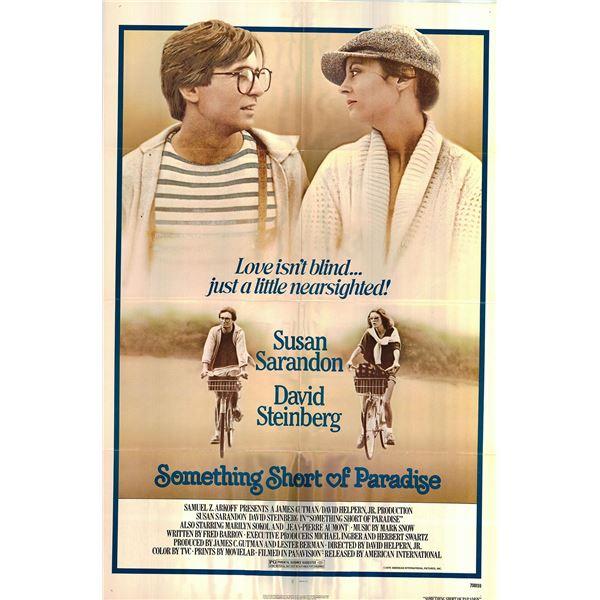 Something Short of Paradise original 1979 vintage one sheet movie poster