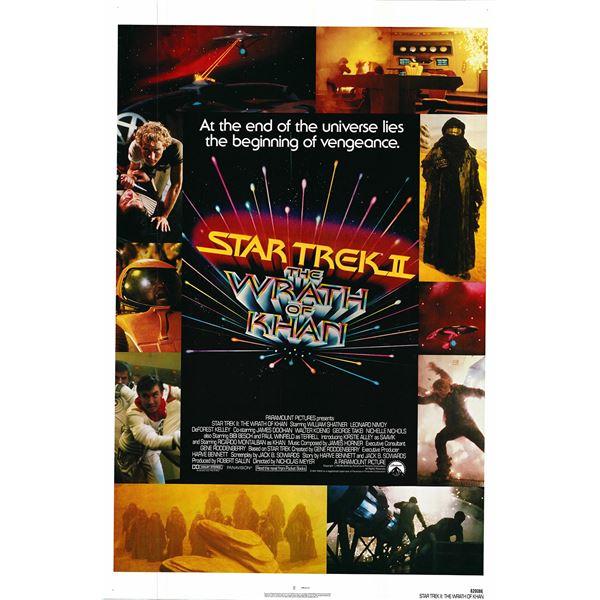Star Trek II: The Wrath of Khan 1982 original vintage movie poster
