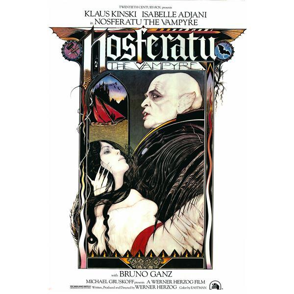 Nosferatu the Vampyre 1979 original vintage movie poster