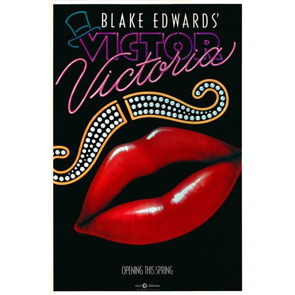 Victor/Victoria 1982 original advance one sheet movie poster