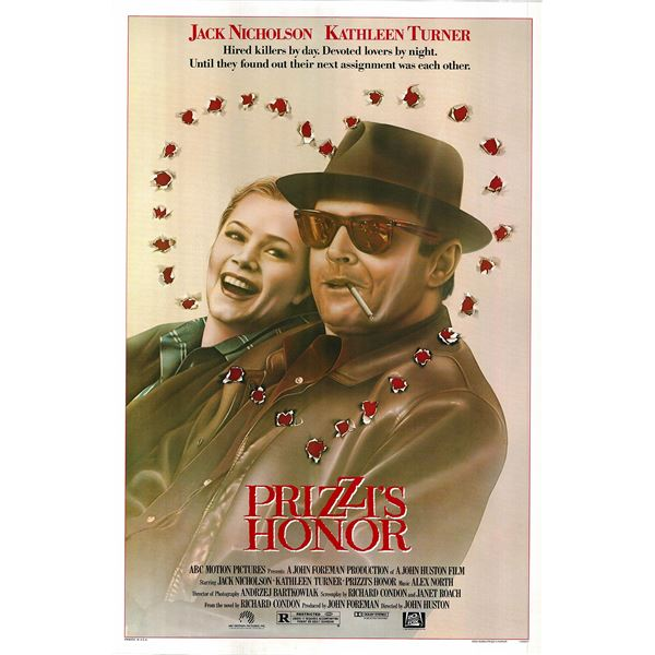 Prizzi's Honor 1985 original vintage movie poster