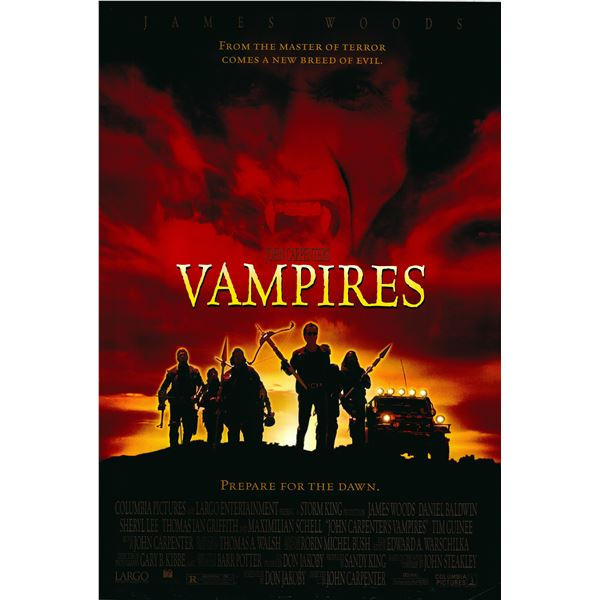 Vampires 1998 original one sheet movie poster