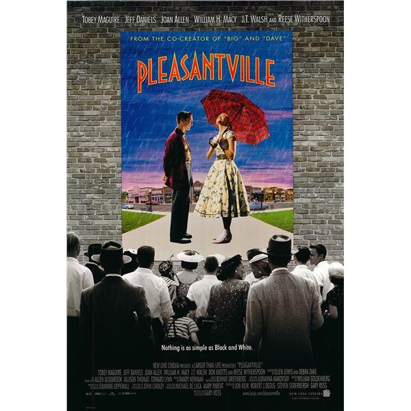 Pleasantville 1998 original movie poster