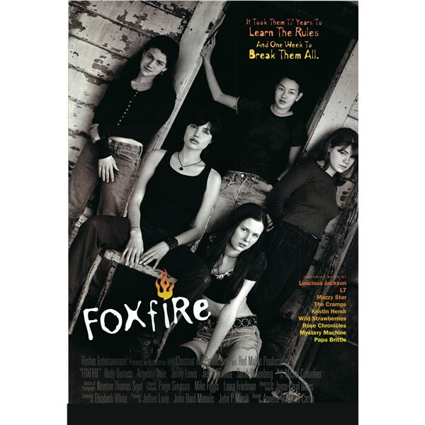 Foxfire 1996 original one sheet movie poster