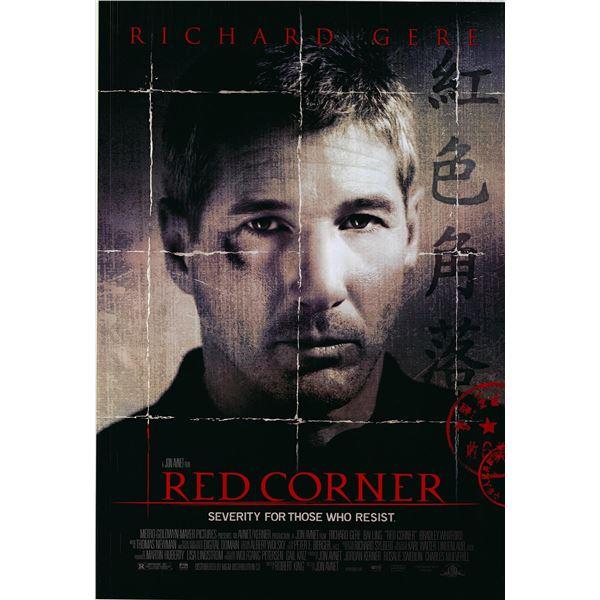 Red Corner original 1997 vintage one sheet movie poster