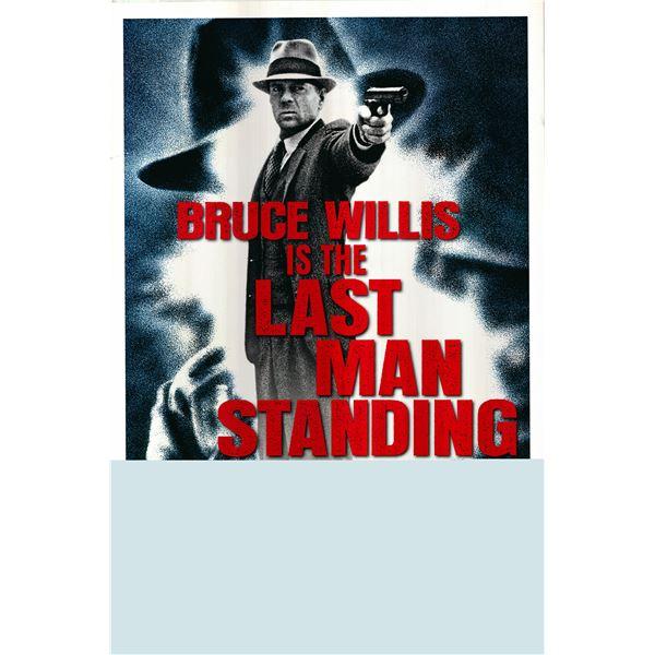 Last Man Standing (Bruce Willis) 1996 original advance one sheet movie poster