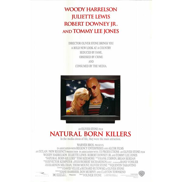 Natural Born Killers 1994 original movie poster