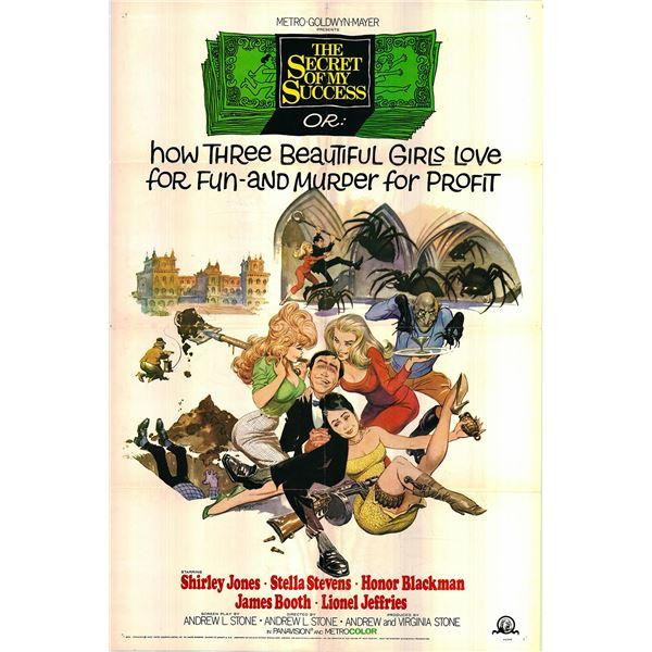 The Secret of my Success original 1965 vintage one sheet movie poster