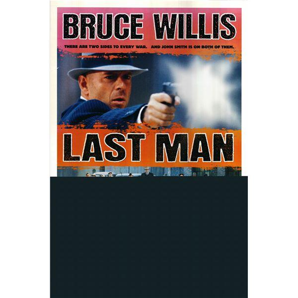 Last Man Standing 1996 original one sheet movie poster
