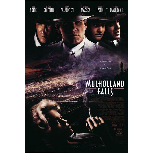 Mulholland Falls 1996 original movie poster