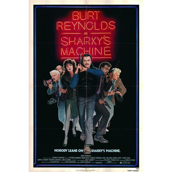 Sharky's Machine original 1981 vintage one sheet movie poster