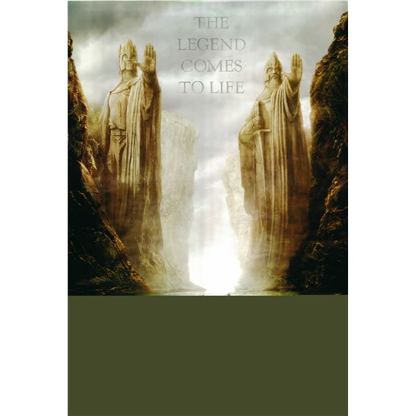 The Lord of the Rings: The Fellowship of the Ring 2001 original one sheet movie poster