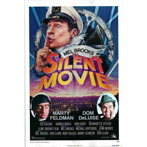 Silent Movie original 1976 vintage one sheet movie poster