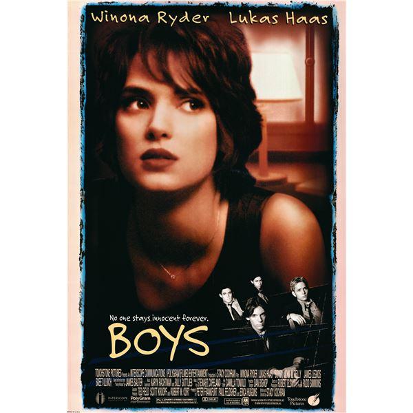 Boys 1996 original one sheet movie poster