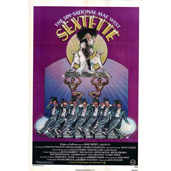 Sextette original 1978 vintage one sheet movie poster