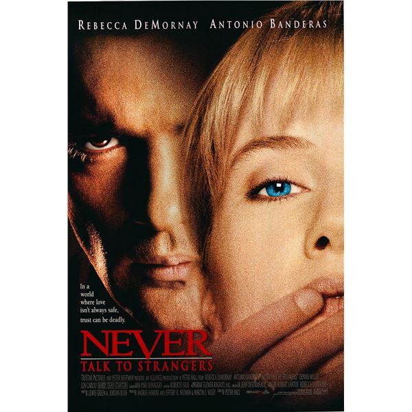 Never Talk to Strangers  1995 original movie poster