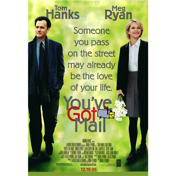 You've Got Mail 1998 original advance sheet movie poster