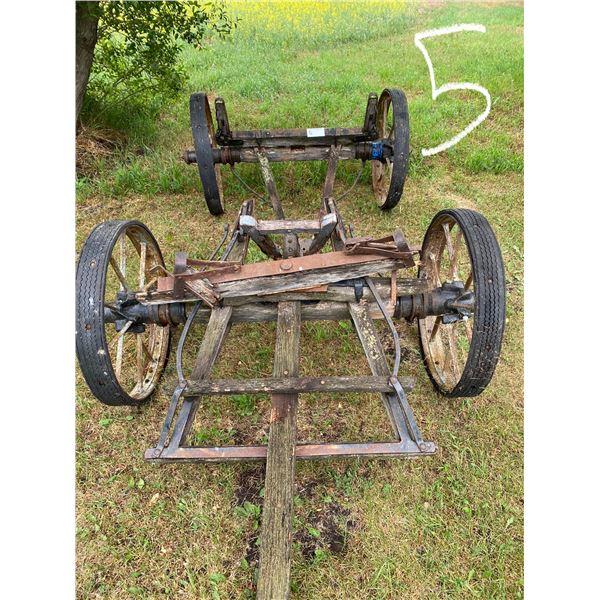 4 Wheel Steel Wagon