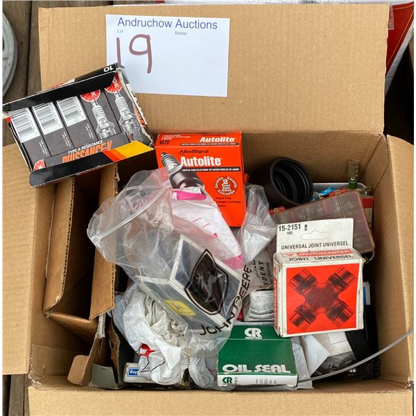 New Spark Plugs, Various New Parts, Etc.