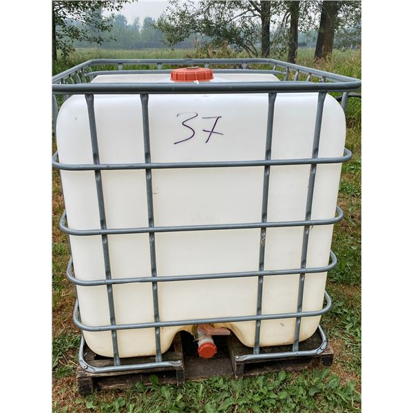 Sq. Water Tank w/ Cage