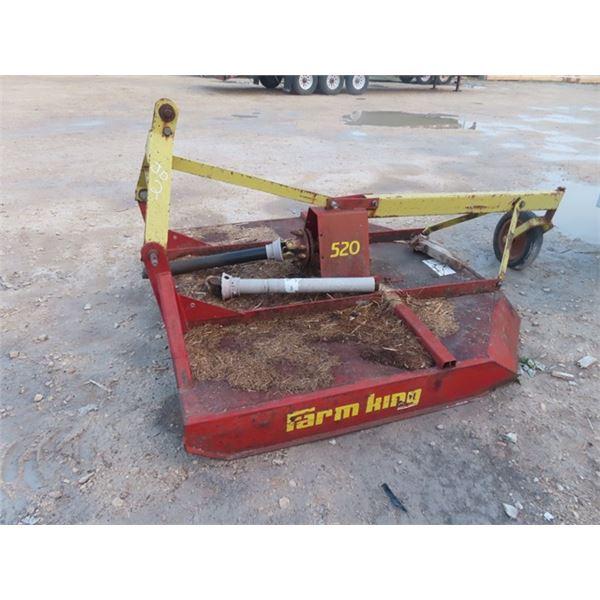Farm King 520 3PH Rotary Mower 5' Wide
