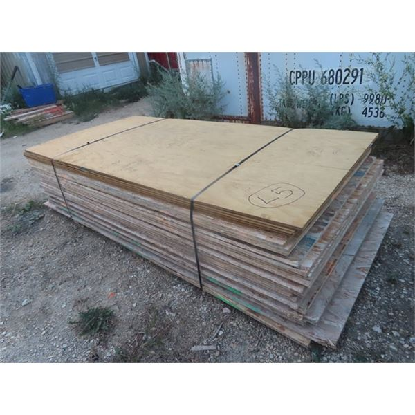 """OSB - 32 Pcs- 4 x 8x 3/4"""" ONE MONEY FOR ALL"""