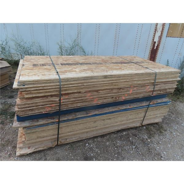 """OSB 63 Pcs - 4 x 8 x 7/16"""" ONE MONEY FOR ALL"""