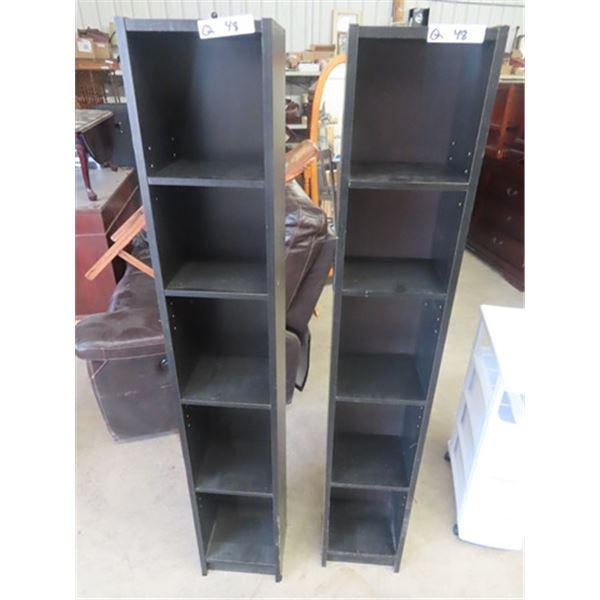 """2 Open Shelves - 60""""W 10""""W 8""""D"""