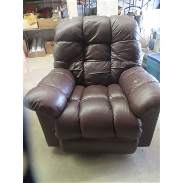 Lazy Boy Leather Recliner