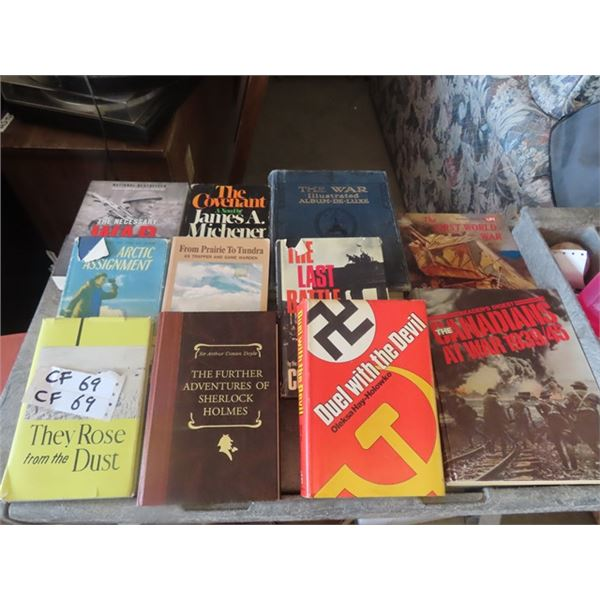 Approx 21 Military Books & Wilderness Plus!