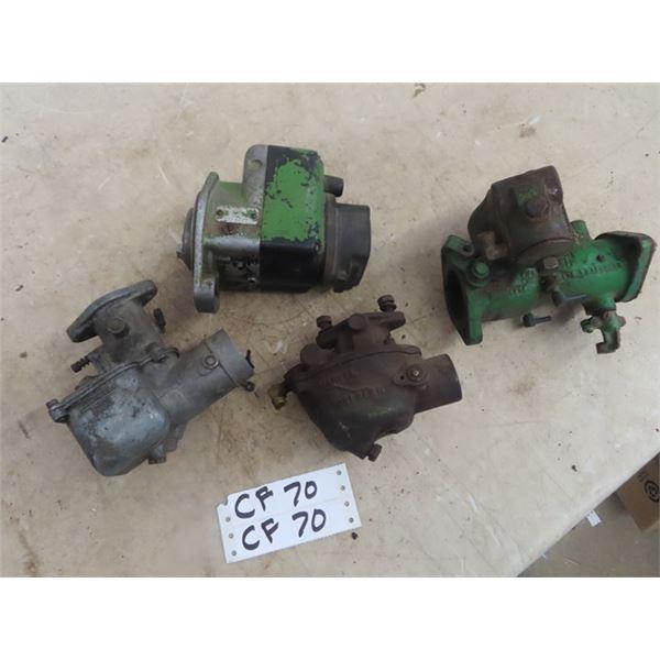 3 JD Carbureators & 1 Magneto