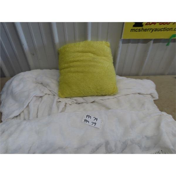 Blanket & Cushion