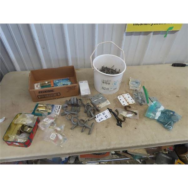 Hardware, Door, Hooks, Oar Hardware, Nails Plus