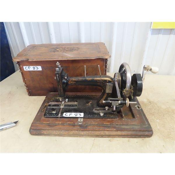 Portable Crank Sewing Machine
