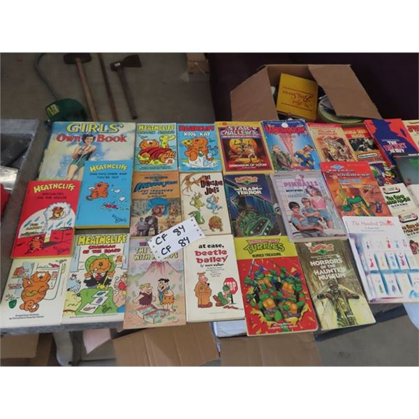 Approx 75 Children's Books & Cartoon Books