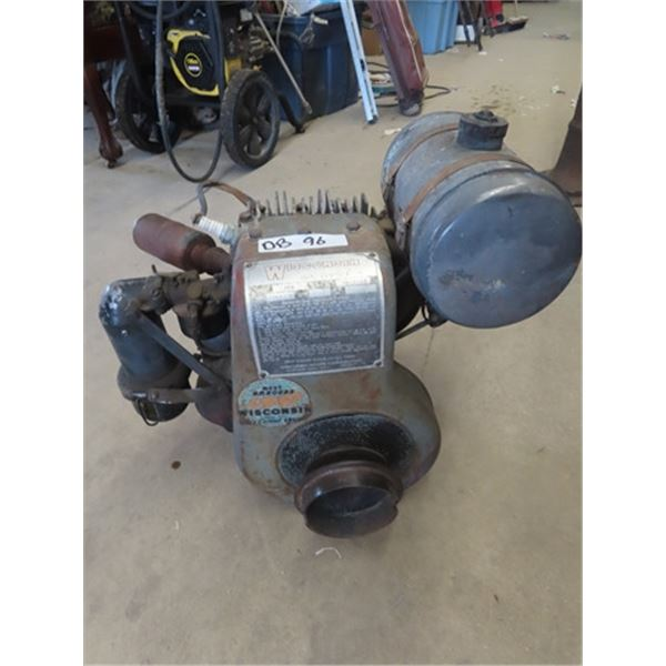 Wisc Air Coole One Cycle Engine