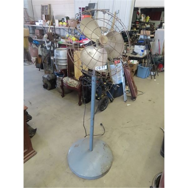 Fan on Stand - Kind of Industrial
