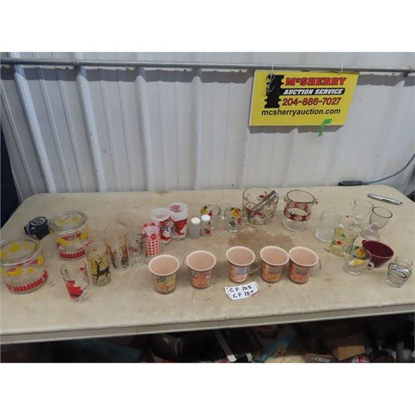 Glassware, Ice Bucket, Biscuit Jar, Plus More!