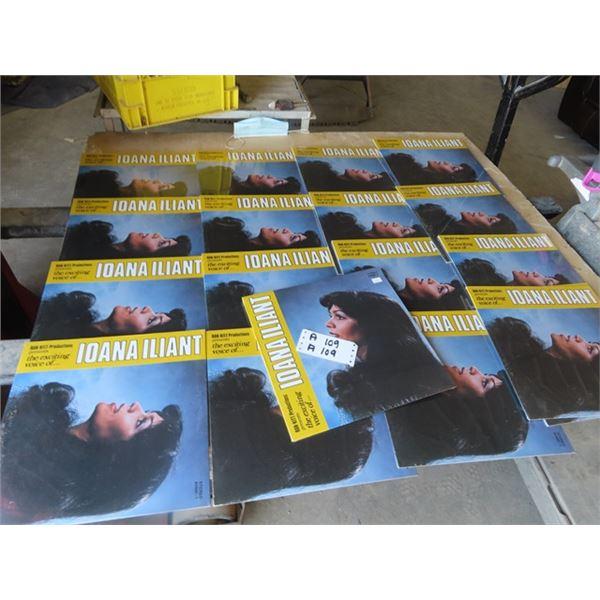 Approx 18 Records - All Ioana Iliant- All Sealed