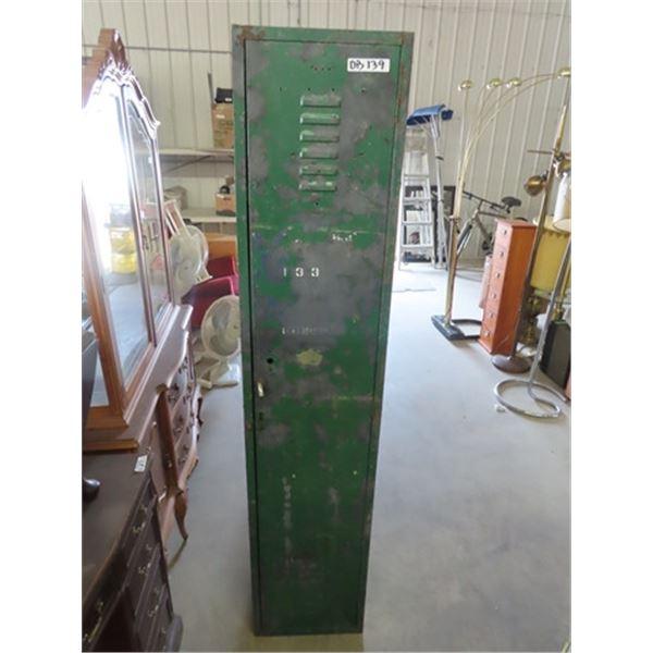 """Metal Locker 72"""" x 15"""" x 15"""""""