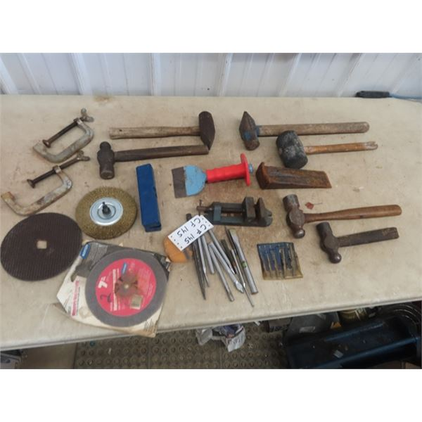 Ball Peine Hammer, Vice, Easy Outs, Impact Driver Wedge Plus More!